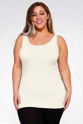 Endless Possibilities Tank (Curvy-3 colors)