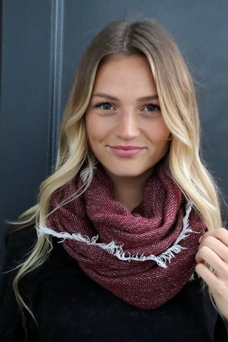 Herringbone Scarf (Multiple Colors)