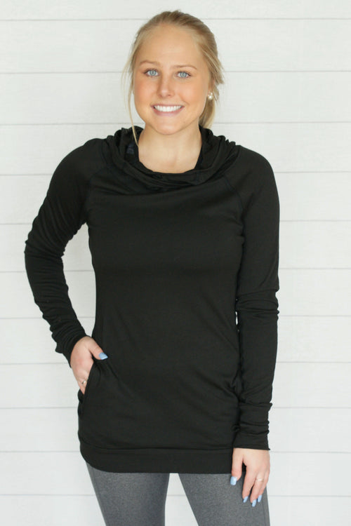 Sleek Work Out Hoodie