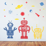Summer Decorating with Robots (more than meets the wall)!