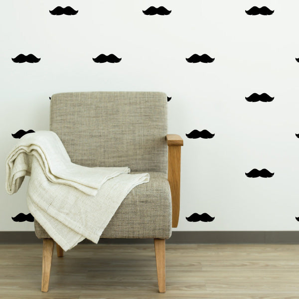 Mustache Pattern - Dana Decals