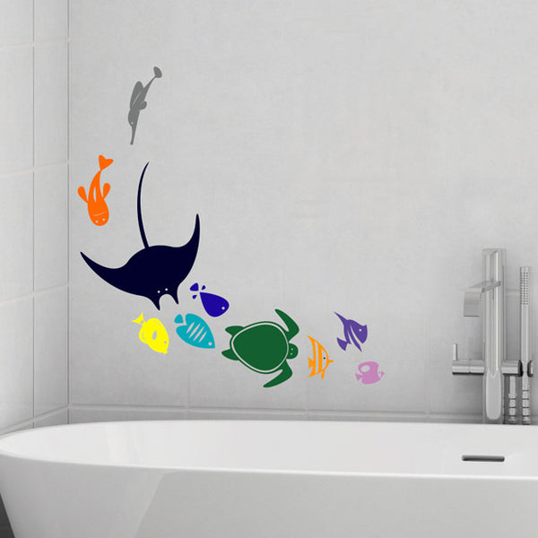 Sea Life Swoop - Dana Decals - 1