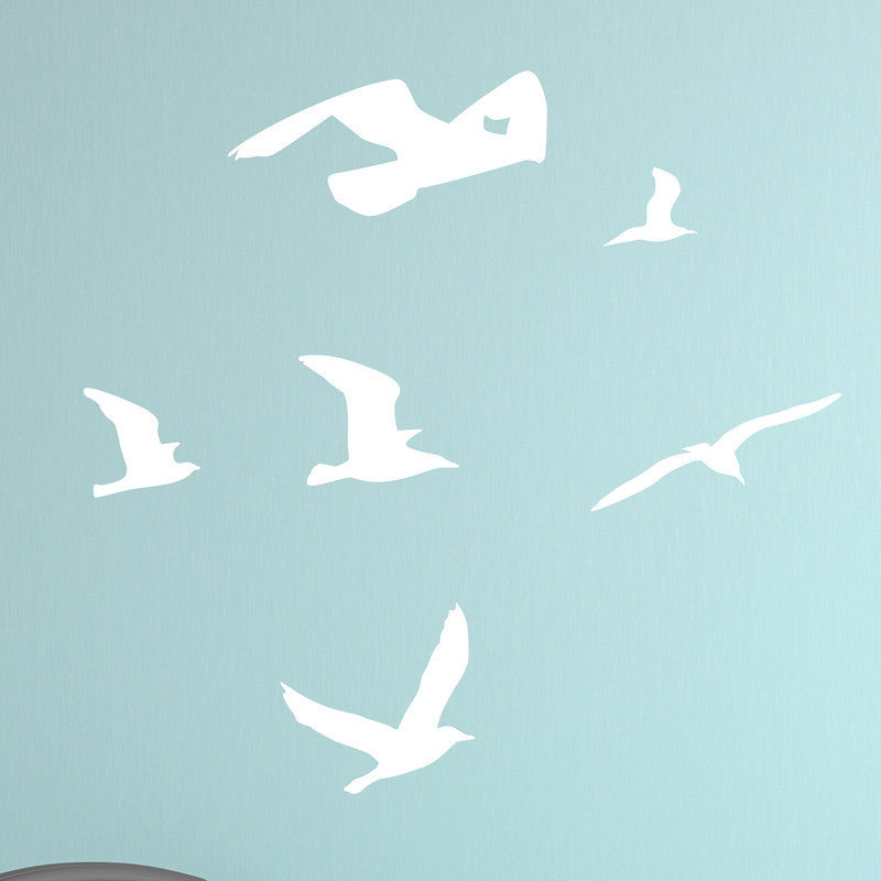 Cluster of Seagulls - Dana Decals - 1