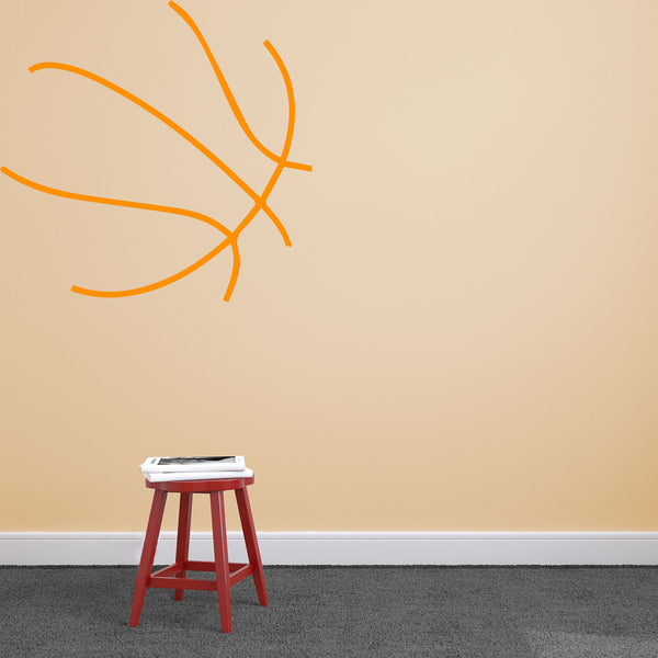 Oversized Basketball - Dana Decals - 1