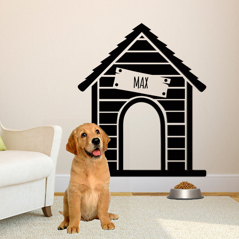 Personalized Dog House - Dana Decals