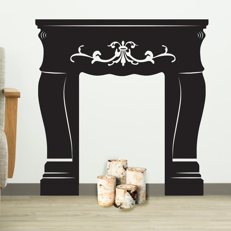 Faux Fireplace - Dana Decals - 1