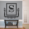 Personalized Victorian Family Established Frame Shelf - Dana Decals - 2