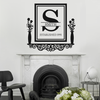 Personalized Victorian Family Established Frame Shelf - Dana Decals - 3
