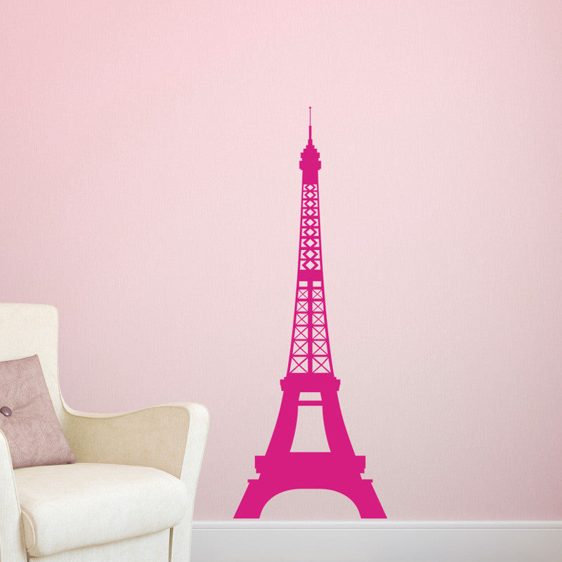 Paris Skyline Eiffel Tower - Dana Decals - 1