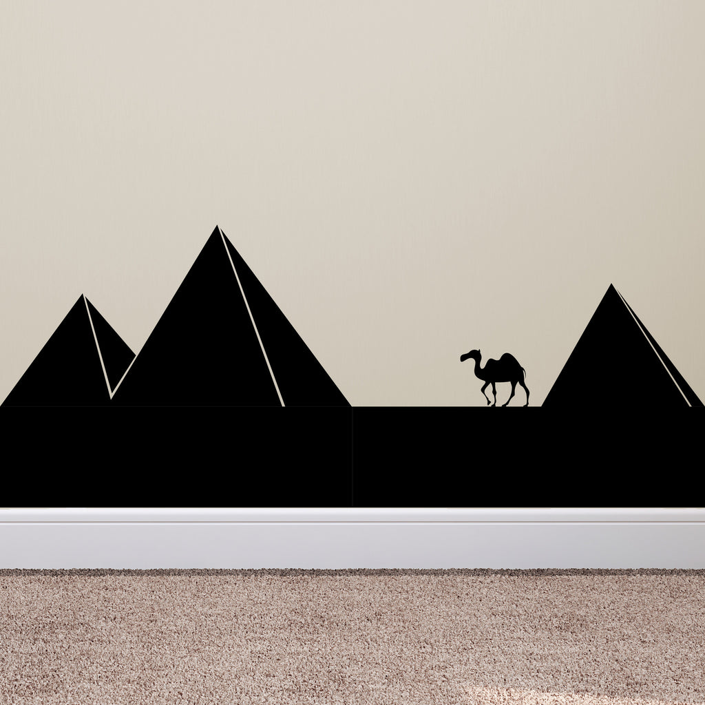 Pyramids and Camel - Dana Decals