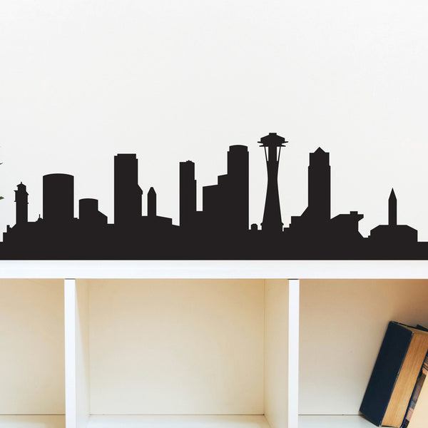 Seattle Skyline - Dana Decals - 1