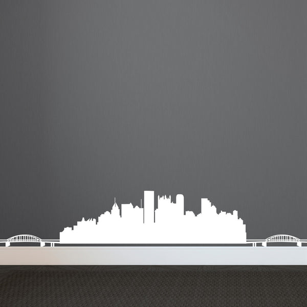 Pittsburgh Skyline - Dana Decals - 1