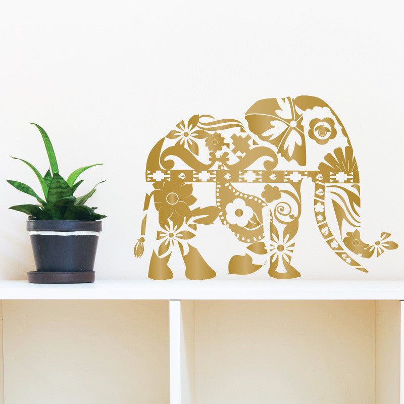 Patterned Elephant - Dana Decals - 1