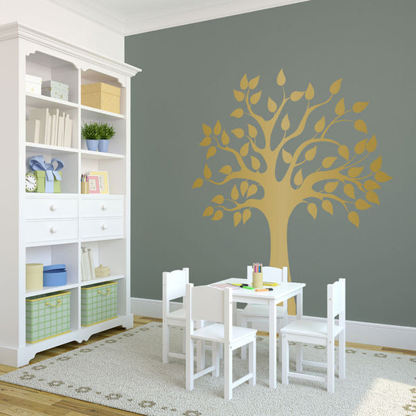 Modern Golden Tree - Dana Decals - 1