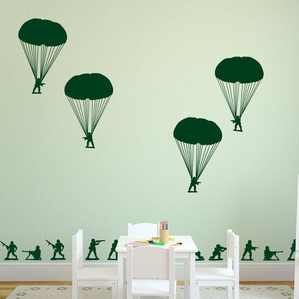 Toy Soldiers & Paratroopers - Dana Decals