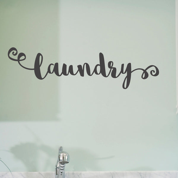 Laundry Room Sign - Dana Decals - 1