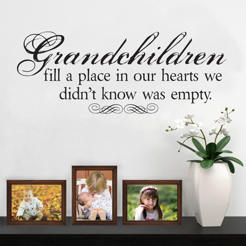 Grandchildren Fill our Hearts - Dana Decals - 1