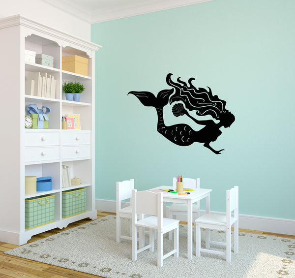 Mermaid Silhouette - Dana Decals