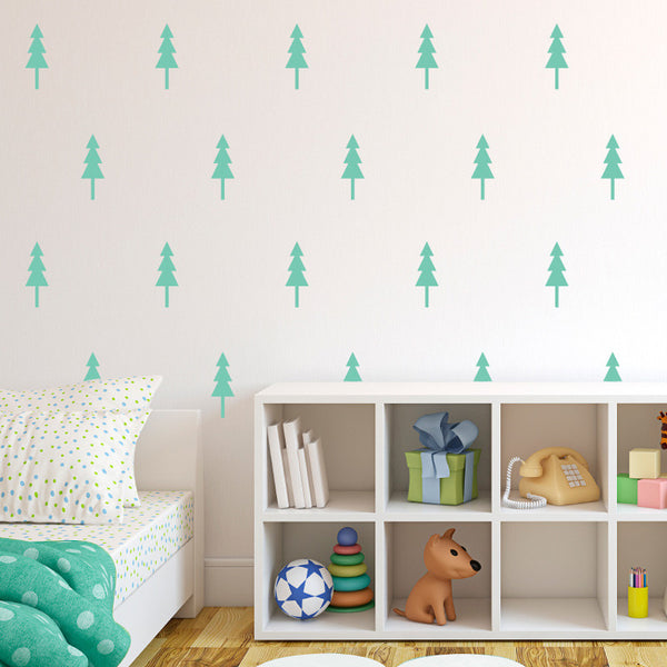 Pine Tree Pattern - Dana Decals - 1