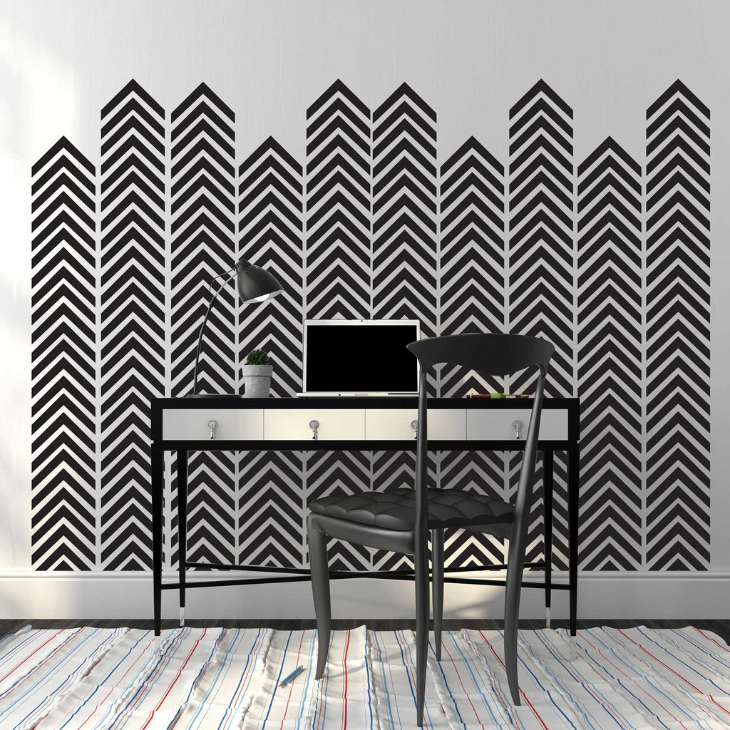 Chevron Arrow Pattern, Single Color - Dana Decals - 1