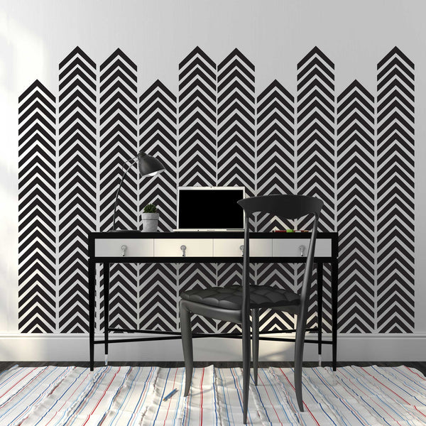 Chevron Arrow Pattern, Single Color - Dana Decals