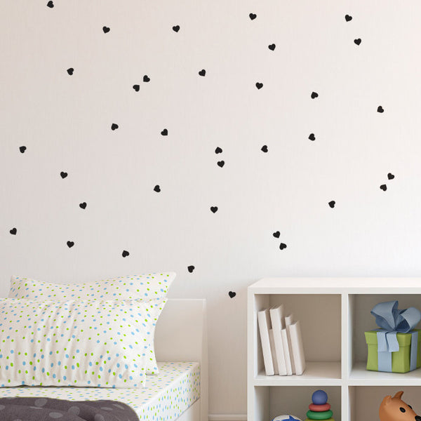 Tiny Hearts Pattern - Dana Decals - 1