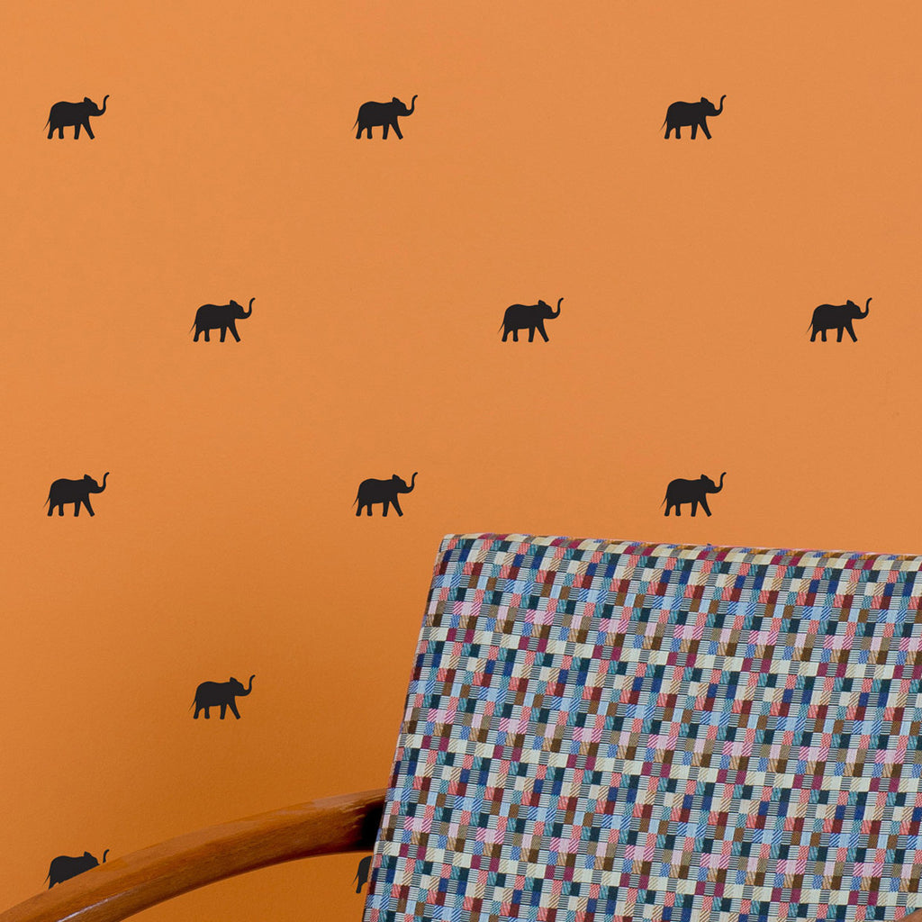 Tiny Elephants Pattern Wall Decal Shop Decals At Dana Decals
