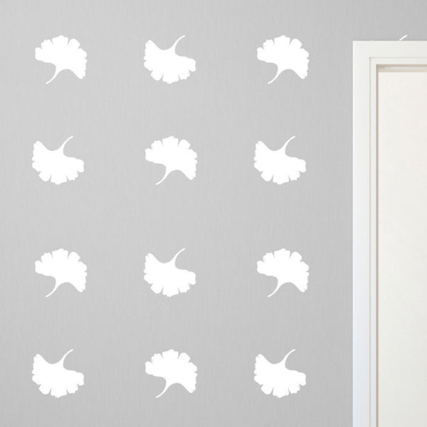 Ginkgo Leaves Pattern - Dana Decals - 1