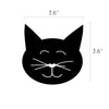 Tiny Cat Faces Pattern - Dana Decals - 3