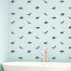 Tiny Dinosaurs Wall Pattern - Dana Decals