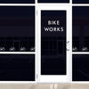 Tiny Bicycles Wall Pattern - Dana Decals