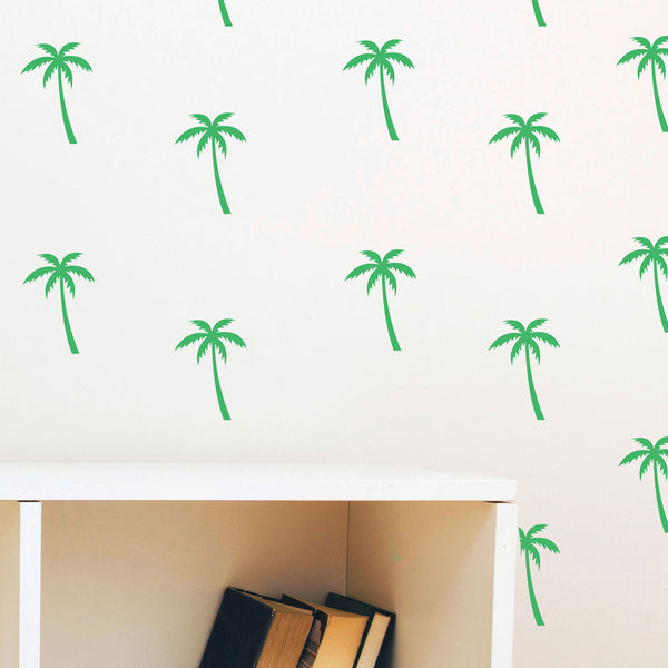 Tiny Palm Trees Pattern - Dana Decals - 1