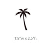 Tiny Palm Trees Pattern - Dana Decals - 4