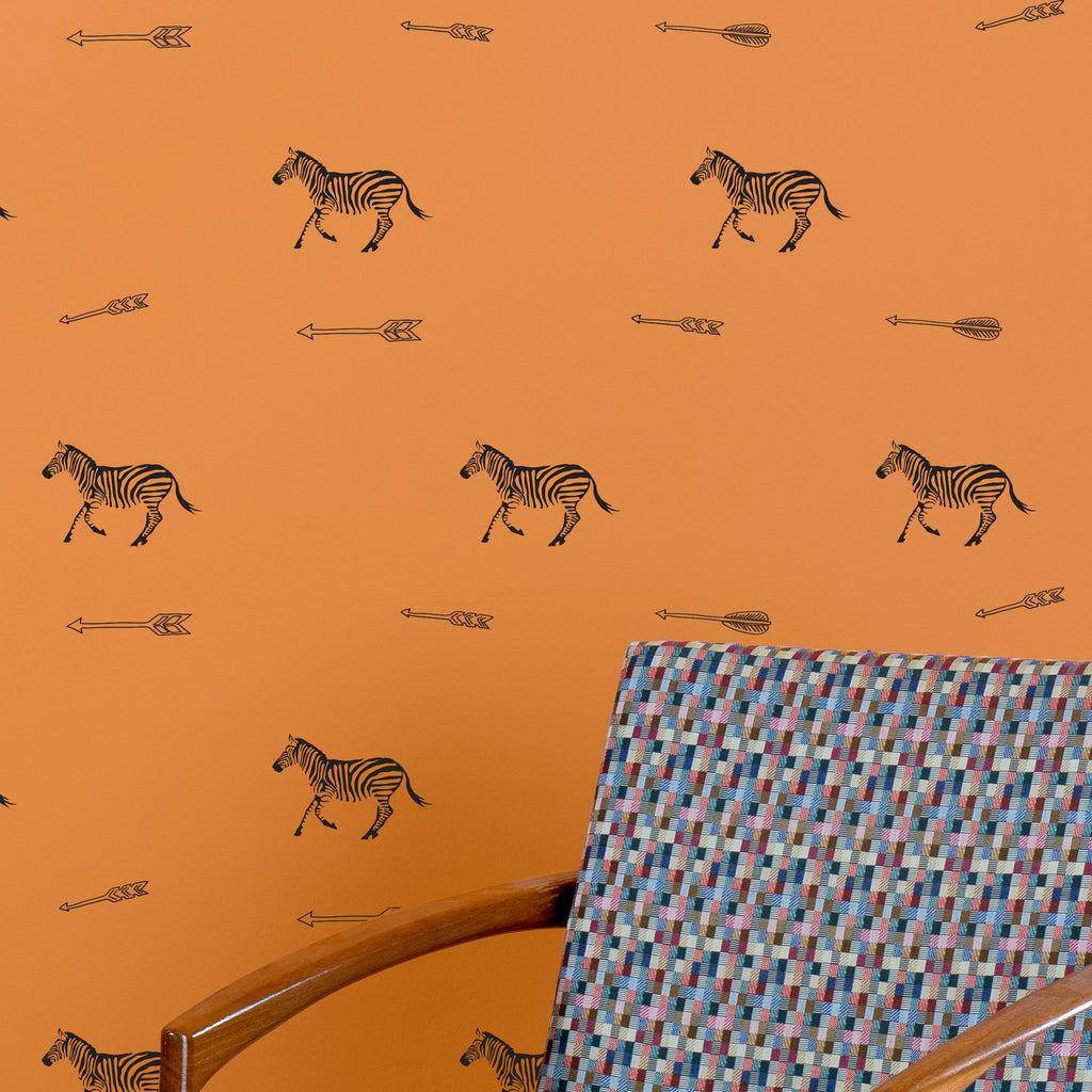 Zebras and Arrows Pattern - Dana Decals - 1