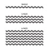 Wavy Chevron Pattern - Dana Decals - 3