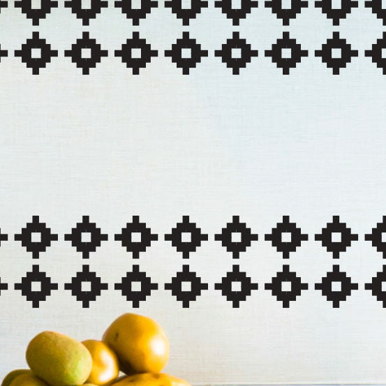 Tribal Geometric Pattern - Dana Decals