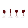 Tiny Wine Glasses Pattern - Dana Decals - 4