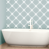 Floral Tile Pattern, 1 Color - Dana Decals