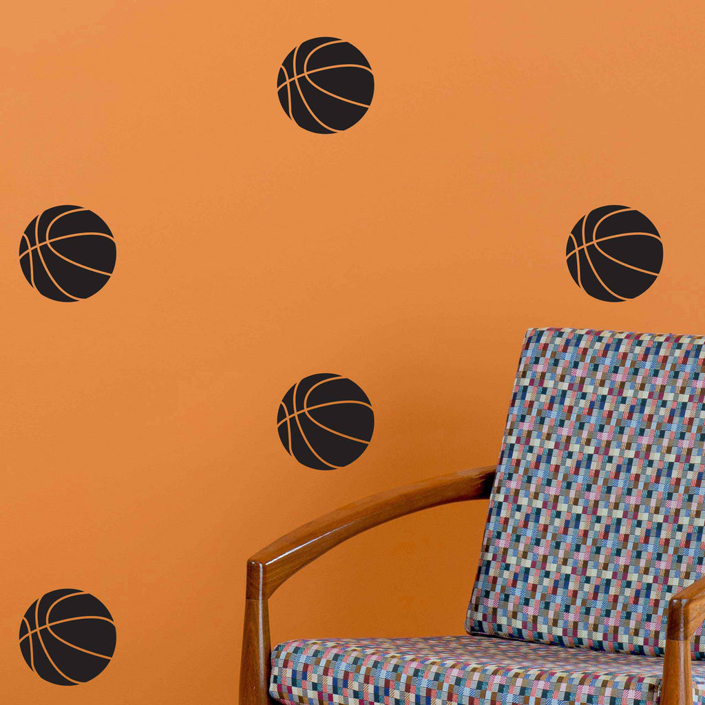 Basketball Pattern - Dana Decals - 1