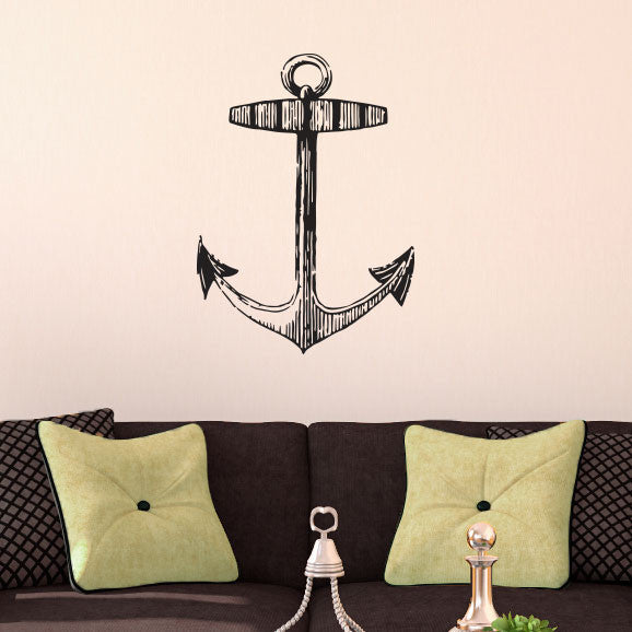 Vintage Anchor - Dana Decals - 1