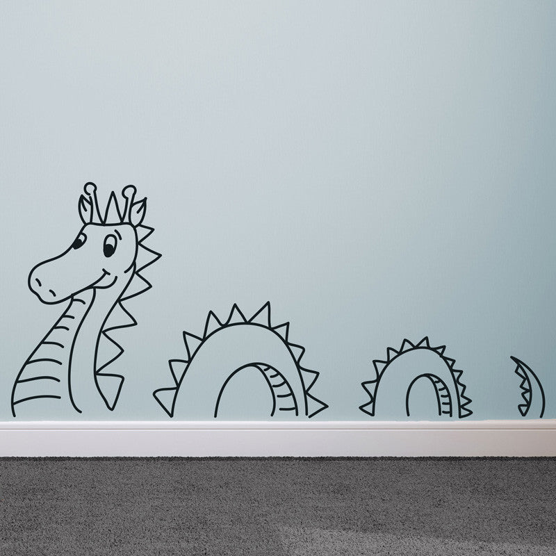 Loch Ness Cartoon - Dana Decals - 1
