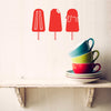 Popsicles Decal - Dana Decals - 1