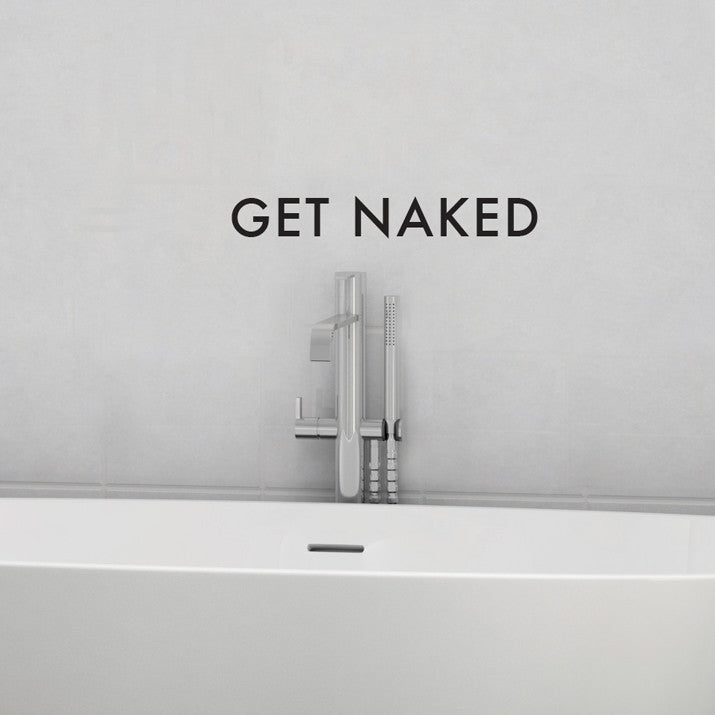 Get Naked - Dana Decals