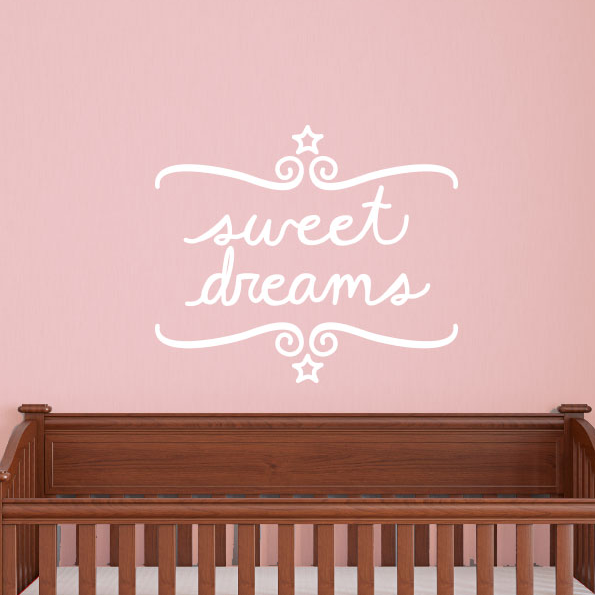 Sweet Dreams Wall Quote Decal - Dana Decals - 1