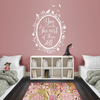 Snow White Fairest of Them All Quote in Woodland Mirror - Dana Decals - 3