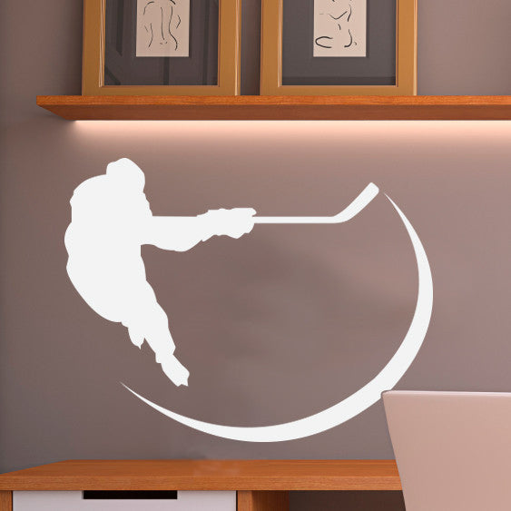 Hockey Player - Dana Decals