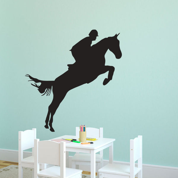 Equestrian Rider Jumping - Dana Decals - 1