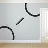 Oversized Football Stitching - Dana Decals - 2