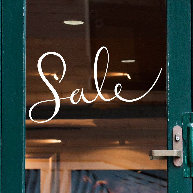 Sale Storefront Sign - Dana Decals