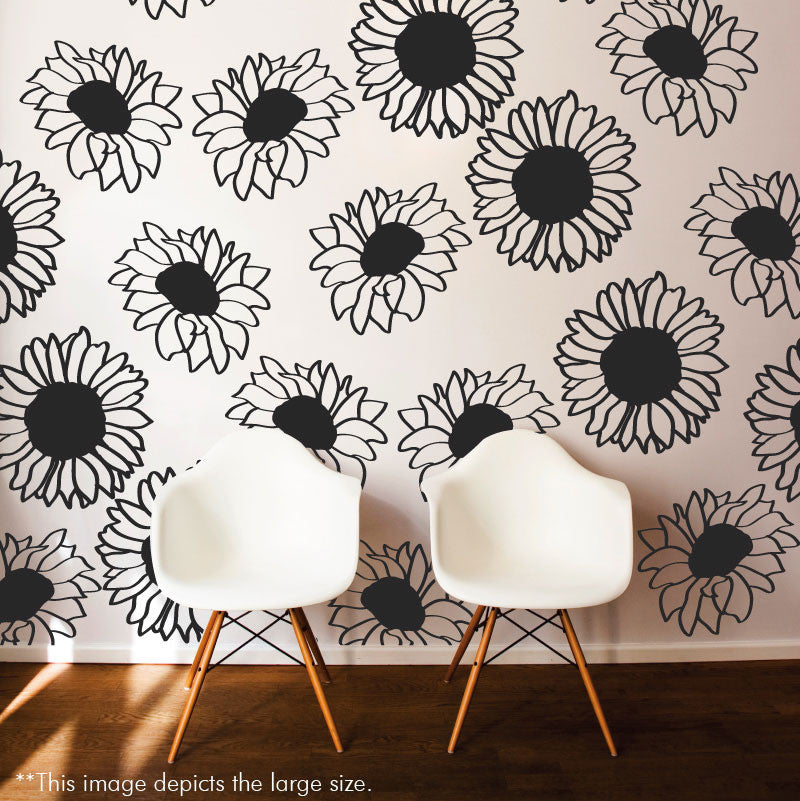 Sunflower Pattern - Dana Decals